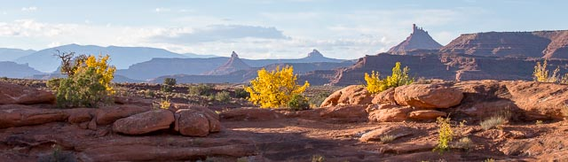 Indian Creek landscape, Canyonlands UT, October 10, 2016